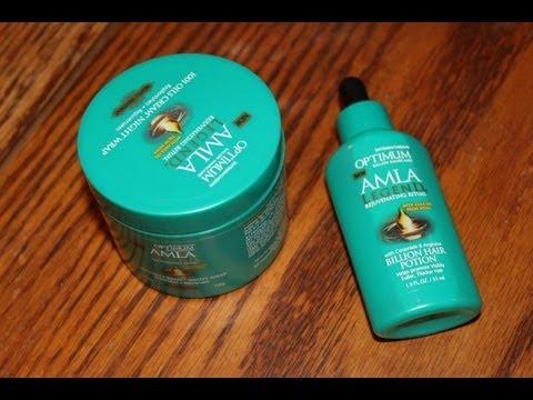 Optimum AMLA Legend Billion Hair Potion & 1001 Oil Cream Night Wrap