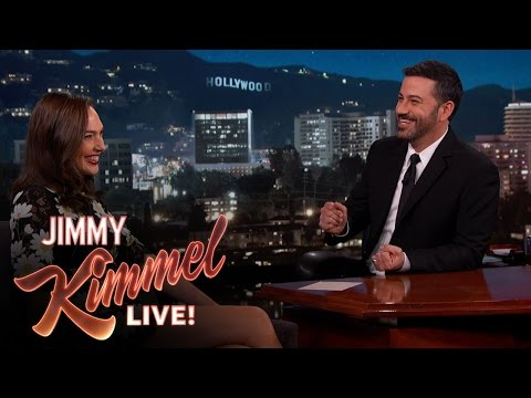 Gal Gadot Asks Jimmy Kimmel About Her Breasts Mp3