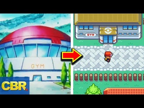 Differences Between Pokemon Anime And Games