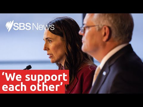 Jacinda Ardern shuts down a reporter who suggests she is 'cosying up' to China.   SBS News