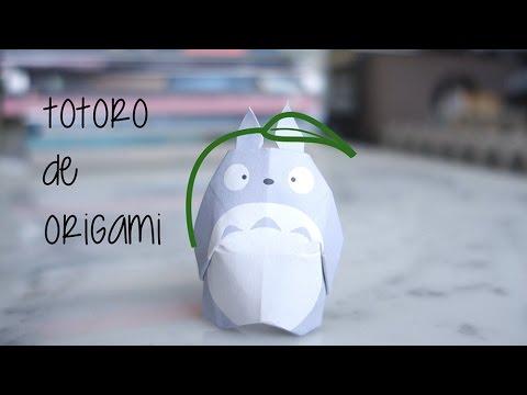 Papercraft Origami Totoro