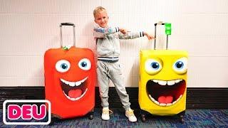 Vlad und Nikita - Familienausflug nach Kalifornien