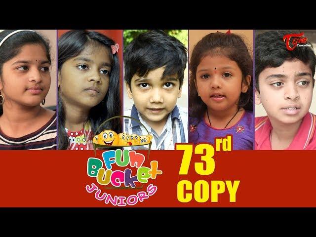Fun Bucket JUNIORS   Episode 73   Kids Funny Videos   Comedy Web Series   By Sai Teja - TeluguOne