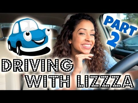 CRAZY DRIVER?! DRIVING WITH LIZZZA PART 2!! | Lizzza