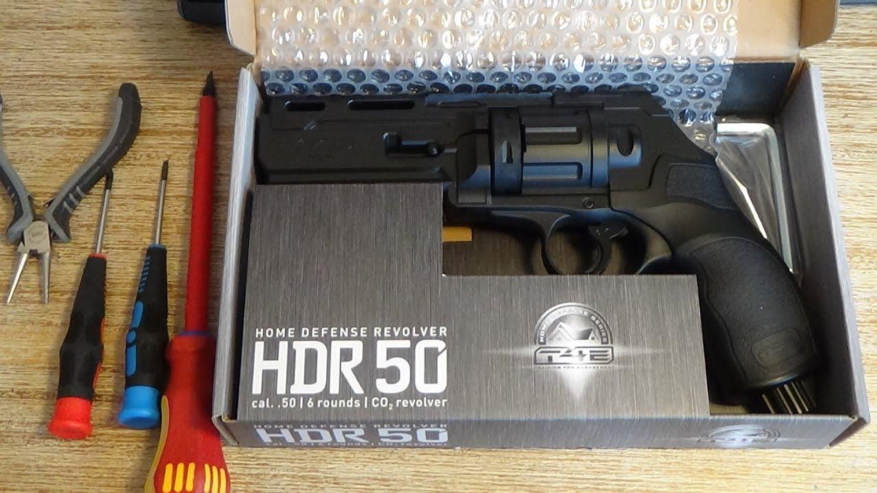 Umarex T4E HDR50 - Zerlegen