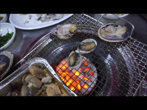 Midnight Seafood Dinner at Jagalchi Fish Market - Busan/South Korea