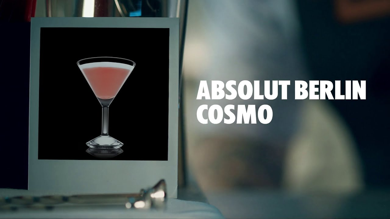 Cosmo Berlin Absolut Berlin Cosmo Drink Recipe How To Mix