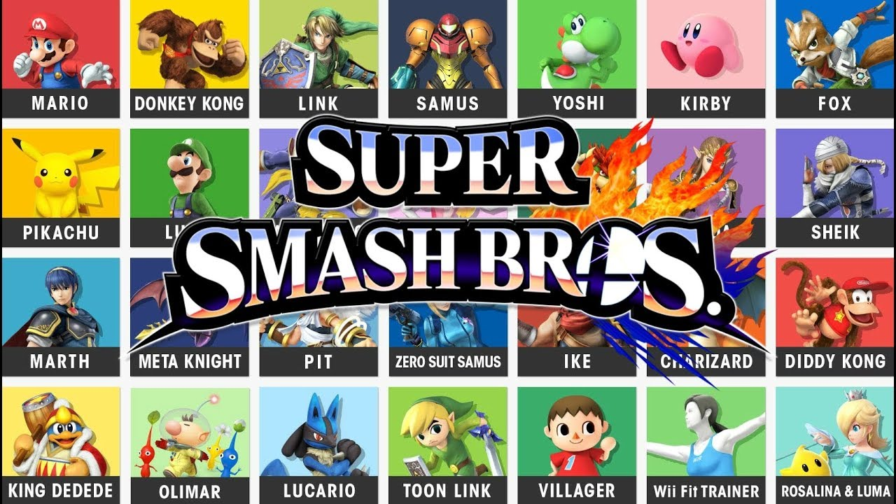 Pro esports players on new Smash Bros  Ultimate game