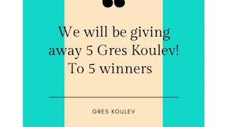 5 GresKoulev for free !!! Giveaway