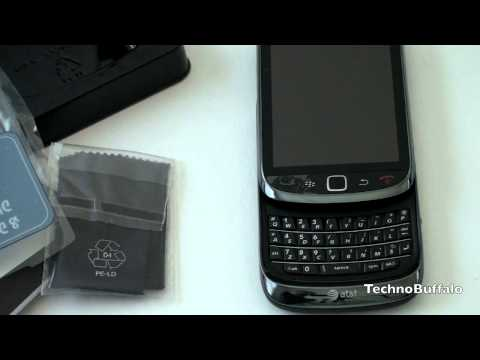 Blackberry Torch 9800 Unboxing