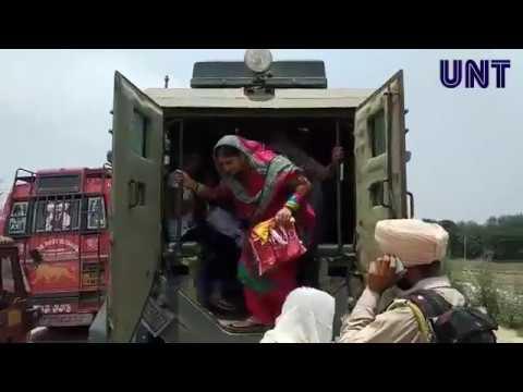 BSF - JKP evacuates Civilians from Arnia as tension grips International Border | UNT