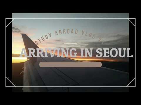 Vlog #1 Meeting the hills of Seoul | Yonsei University