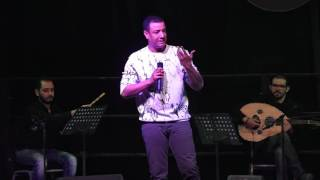 Hisham Elgakh - دخلة هشام الجخ في حفل ساقية الصاوي- نعناع الجنينة - تراث - فبراير 2017 مع حنان عصام