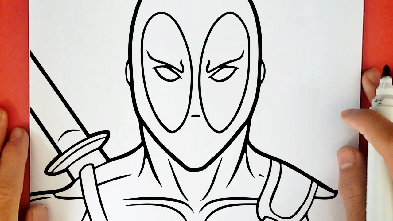 Como Desenhar O Deadpool