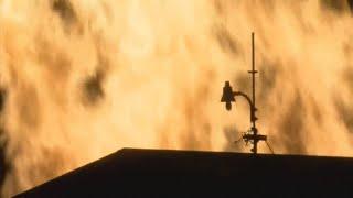 Fire at Jim Beam bourbon warehouse in Versailles, Ky. (WLEX)