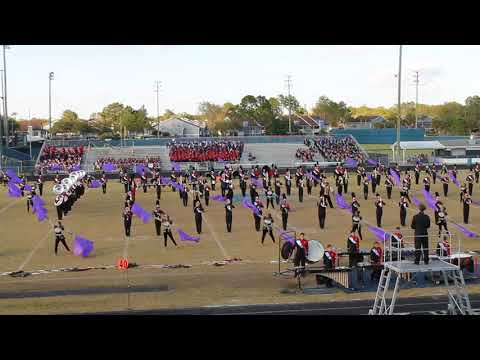 Bloomingdale High School Rajun' Bull Marching Band - 2017 FBA MPA