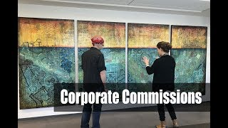 Corporate Art Commissions By Rafi Perez