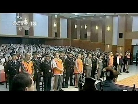 China executes eight Muslims convicted of terrorism