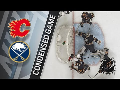 Calgary Flames vs Buffalo Sabres – Mar. 07, 2018 | Game Highlights | NHL 2017/18. Обзор