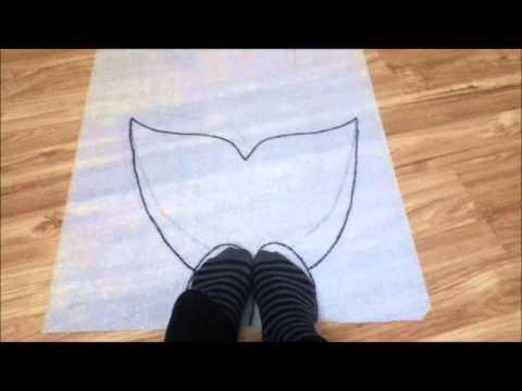 How To Make Homemade Mermaid Monofin
