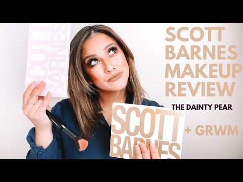 Scott Barnes Blush + Shadow + Brush Review! Worth The $$?!! || The Dainty Pear