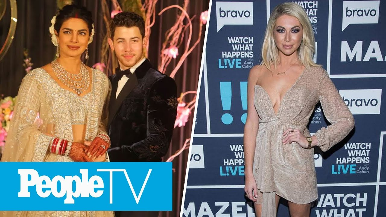 A Look At Priyanka Chopra & Nick Jonas' Wedding Cake, Stassi Schroeder Joins Us Live | PeopleTV