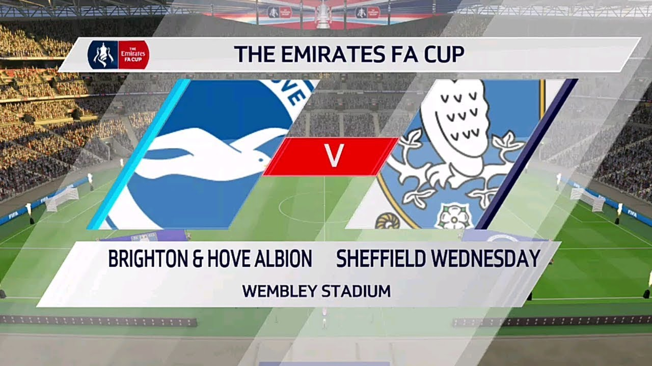 ⚽️ Brighton vs Sheffield Wednesday ⚽️ | The Emirates FA Cup (04012020) | Fifa 20