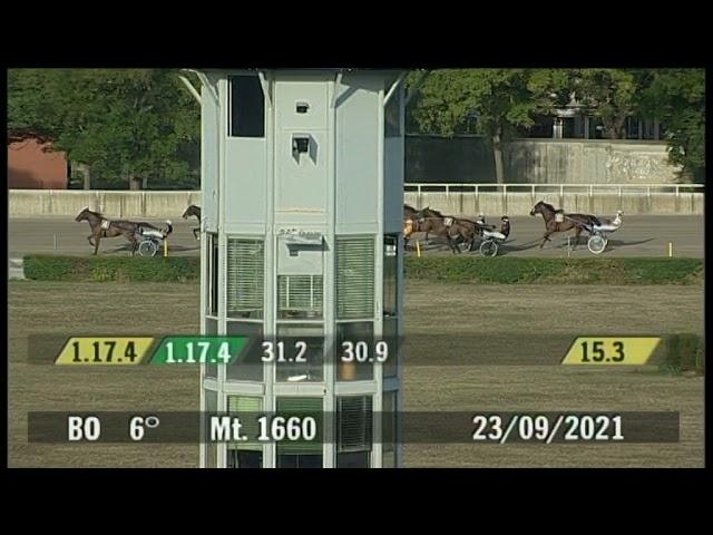 2021 09 23   Corsa 6   Metri 1660   Premio Areos