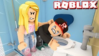 I DO NOT WANT TO GO BACK TO SCHOOL IN ROBLOX! (Roblox Escape School Obby) | Vito and Bella