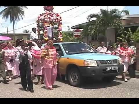 Carib procession