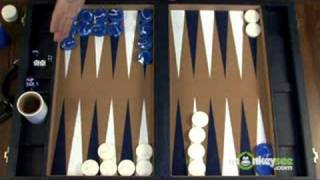 Backgammon Rules - Movement of the Checkers Part 3