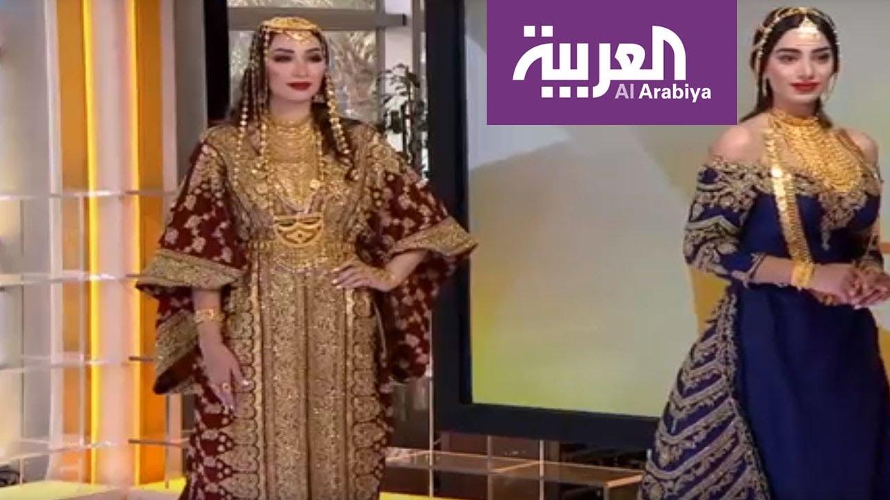 صباح العربية أحدث أزياء عروس ليلة الحناء Youtube