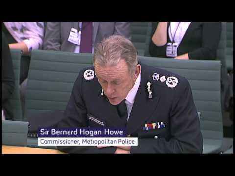 Hogan-Howe grilled by MPs over 'Mitchellgate'