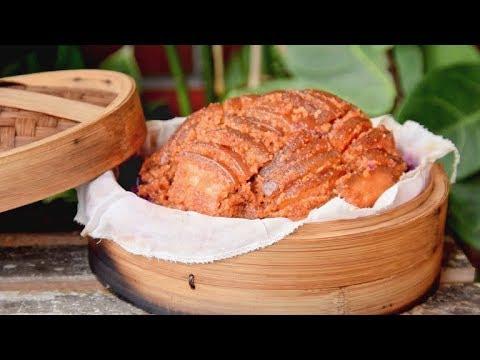 Rice Powder Pork Belly, Tender Hubei-style Fenzhengrou (粉蒸肉)
