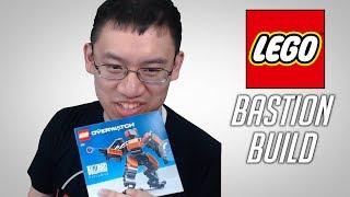 Trump Builds Lego Bastion!