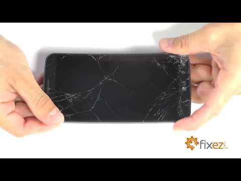 LG G Flex Screen Repair & Disassemble