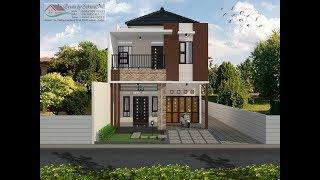 Gambar Rumah Minimalis 2 Lantai Ukuran 6x15