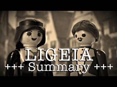 Ligeia to go (Poe in 2 minutes, English version)