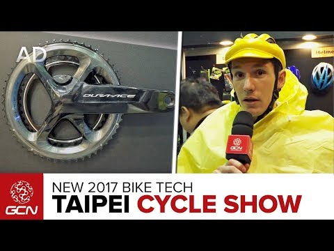 Tech Extra: New Road Bike Tech At The 2017 Taipei Cycle Show