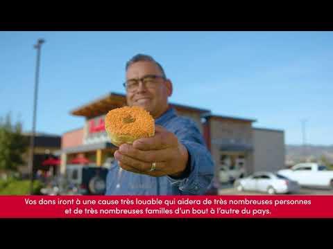 Tim Hortons lance un beigne qui sera offert au Canada du 30 septembre au 6 octobre et qui servira à recueillir des fonds pour soutenir les survivants des pensionnats