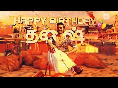 Happy Birthday Dhanush   Wunderbar Films