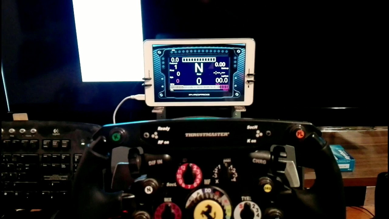 DashPanel - Simracing dashboards for Android/iOS/PC/VR