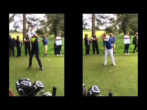 Modern Day v Classic golf swing