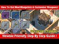 How To Get Weapon Mod Blueprints & Customize Weapons (1.9)! Last Day On Earth Survival