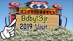 CASINO WINS💥 ROUTE 66  - 2019 FIRST TIME VISIT