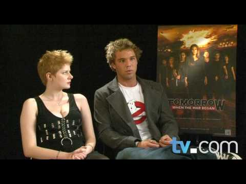 Tomorrow When The War Began: Lincoln Lewis and Rachel Hurd-Wood