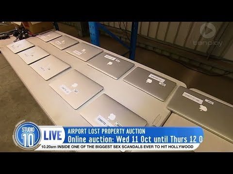 Sydney Airport Puts Lost Items Up For Auction | Studio 10