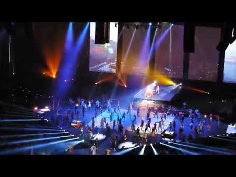 Toronto 2015 Pan Am Opening Ceremony : live Rogers stage
