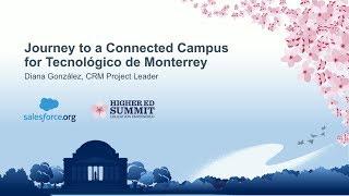 Journey to a Connected Campus for Tecnológico de Monterrey