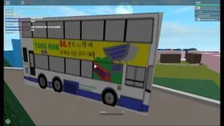 Hong Kong Bus Crash at Robolton Heigts (ROBLOX)